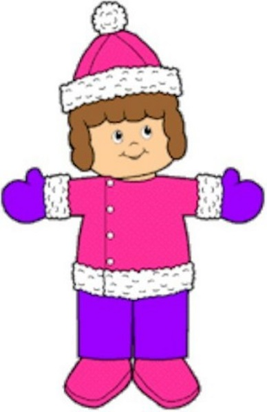 Image of Winter Playtime Paper Dolls