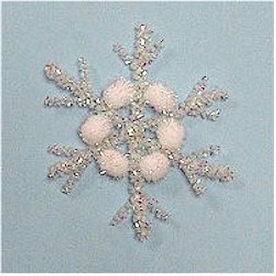 Pom Pom Snowflake