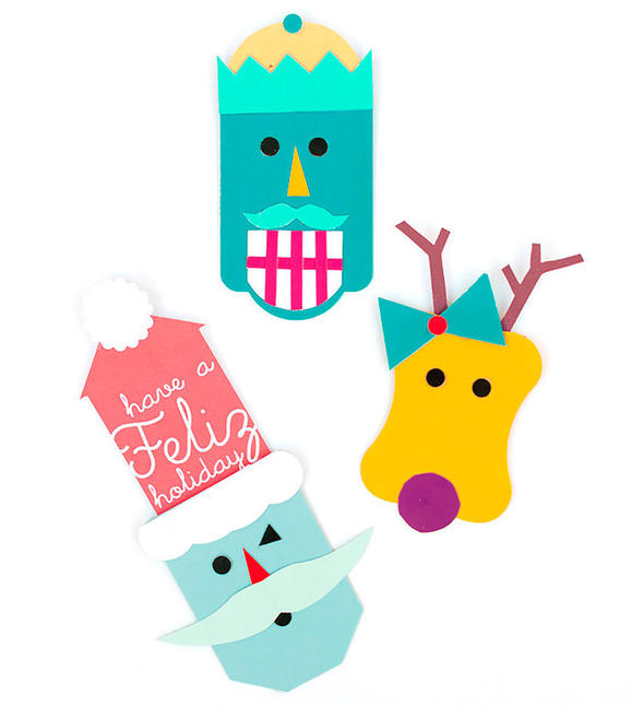 Image of Pop Up Holiday Gift Tags