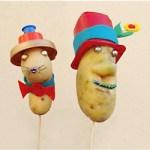 Image of Footprint Potato Heads