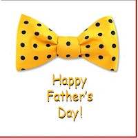 graphic relating to Printable Bow Tie called Bow Tie Fathers Working day Card