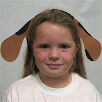 Image of Printable Puppy Dog Ears