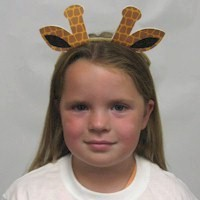 Image of Printable Giraffe Ears