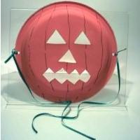 Paper Plate Jack-O-Lantern Mask