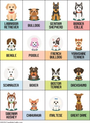 Image of Puppy Matching Game