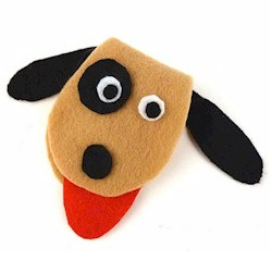 Felt Puppy Sewing Kit