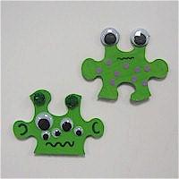 Puzzle Piece Aliens
