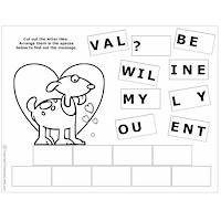 photograph relating to Valentines Puzzles Printable known as Printable Valentine Puzzles