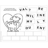 Image of Printable Valentine Puzzles