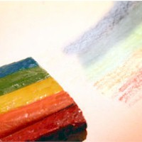 Image of Rainbow Crayon