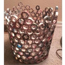 Image of Recycled Magazine Wastebasket
