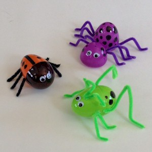 Image of Recycled Plastic Egg Bugs