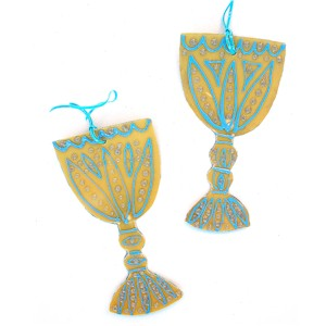 Image of Wine Goblets from Recycled Plastic