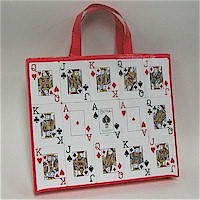Recycled Playing Card Tote