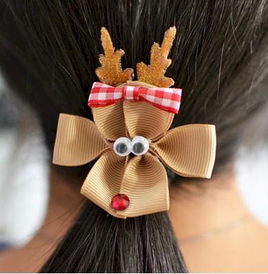 Image of Reindeer Hair Clip