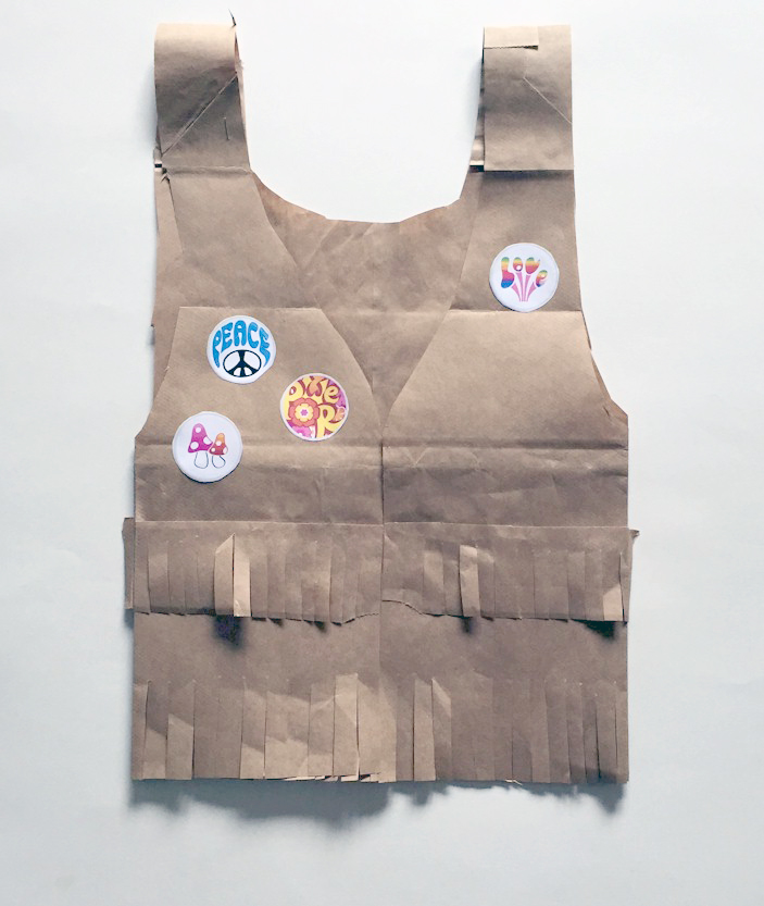 Image of Retro Paper Bag Vest