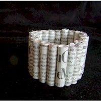 Image of Rolled Paper Bracelet