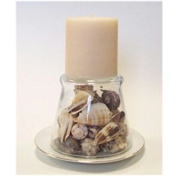 Image of Sea Shell Candle Holder
