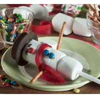 Image of Snowman on a Stick