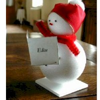 Snowman Placecards
