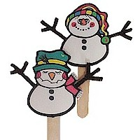 Image of Snowman Puppets