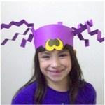Image of Halloween Pumpkin Hat Craft