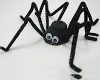 Spooky Black Spider