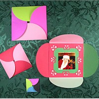 Squared Circle Card