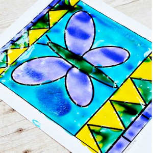 Learn How To Do Stained Glass Painting