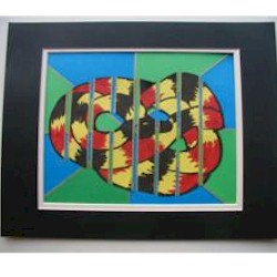 Image of Stained Glass Snake