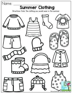 Image of Roundup of Preschool Clothing Crafts