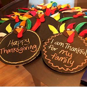 Image of Thanksgiving Chalkboard Craft