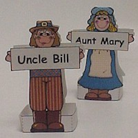 Image of Print a Pilgrim Placecard
