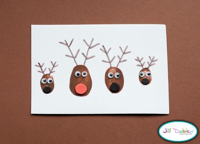 Image of Thumbprint Reindeer