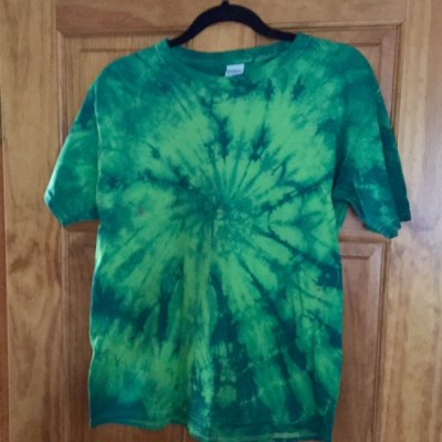 Image of Two Color Tie Dye Tee Shirts