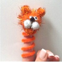 Image of Tiger Finger Puppet