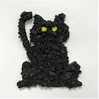 Image of Tissue Paper Black Cat