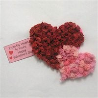 Tissue Paper Heart Card
