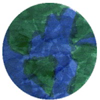 Tissue Paper Earth