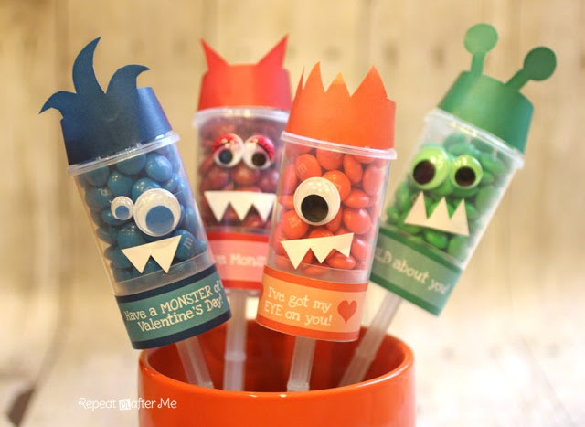Image of Valentine Monster Push Pops