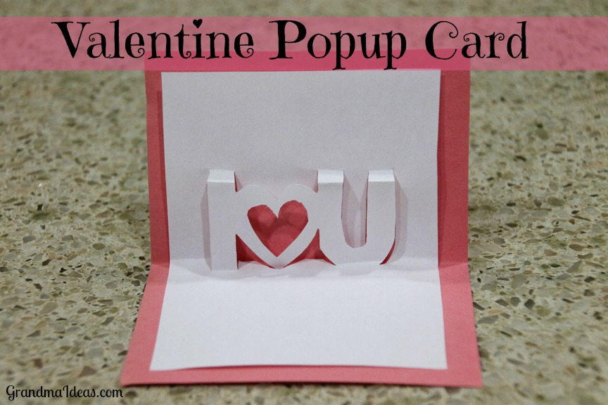 Image of Pop Up Valentine Card