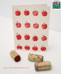 Image of Wine Cork Reindeer Place Cards