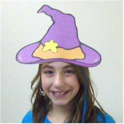 Image of Printable Witches Hat