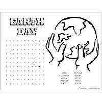 graphic about Earth Day Crossword Puzzle Printable known as Entire world Working day Term Puzzles