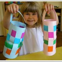 Image of Woven Paper Lantern
