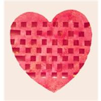 Woven Valentine Heart