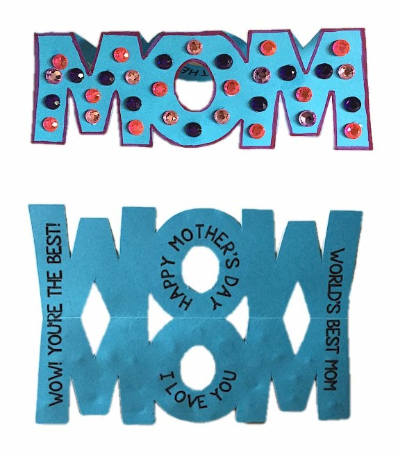 Image of Moms Wow Card