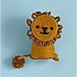 Yarn Wrapped Lion