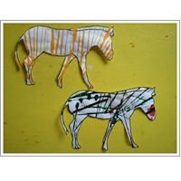 Image of Striped Zebras