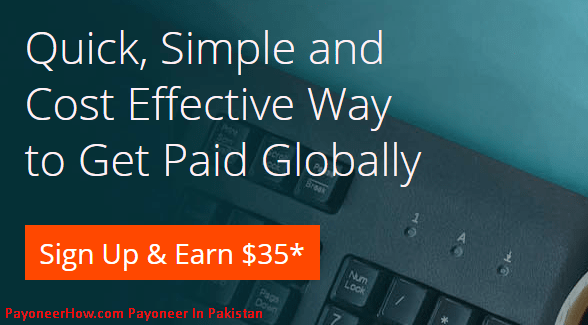 Payoneer In Pakistan Sign UP Bonus